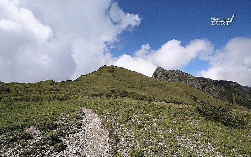 續往奇萊北峰前進