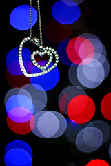 Two hearts (grazanna) Tags: colors heart bokeh cuore bliki canon50mm serce