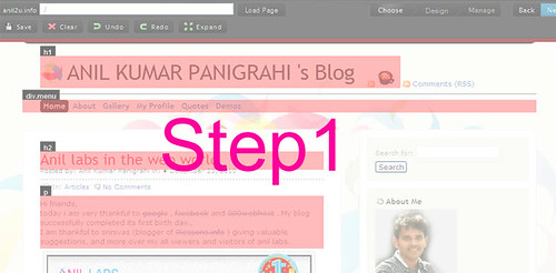 Blog - mobile version step1 | Anil Labs