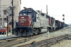 19950304 19 SP Oakland, CA (davidwilson1949) Tags: california railroad train southernpacific