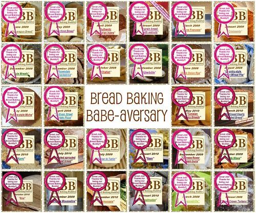 Bread Baking Babe-aversary 2011