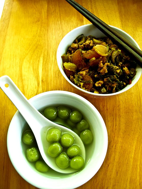 IMG_1551 Pandan Tangyuan ,斑兰汤圆