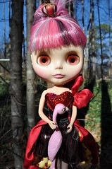 """Nanette """"Im not mean, Im realistic"""" (Lawdeda ) Tags: love set wonderful this outfit doll flamingo queen liv much blythe how wonderland nanette ih fitting rbl"""