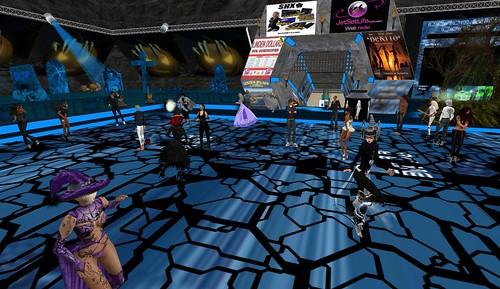 dance island dance floor