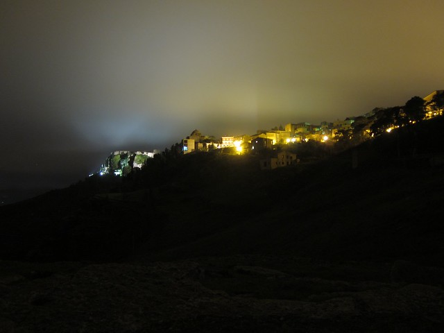 A night out in Erice