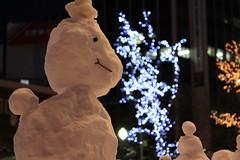 Funky snowman / しゃくれ雪だるま