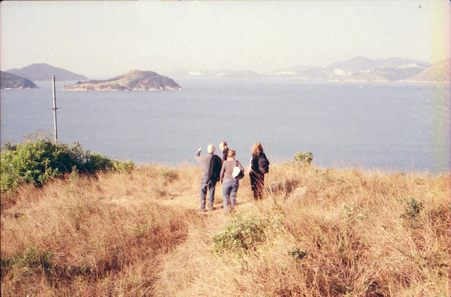hiking on lamma island