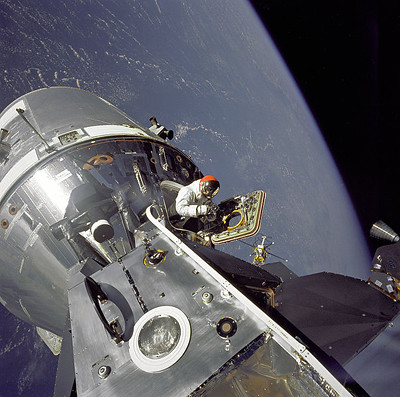 Apollo 9 Scott EVA
