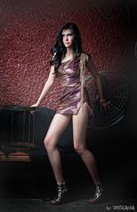 Angelia 4 (peterjaena) Tags: fashion 35mm asian nikon philippines models pinay filipina nikkor 18 afs cls highfashion d300 sb900