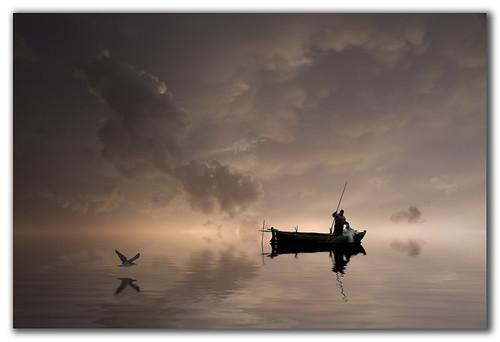 """""""Donde el cielo se une con el mar"""" de Rafaa."""