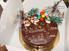 Tarta Primer Aniversari Sara