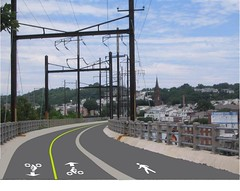 A Trail Concept For the Manayunk Bridge