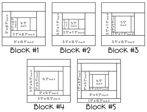 "13"" quilt block diagrams"