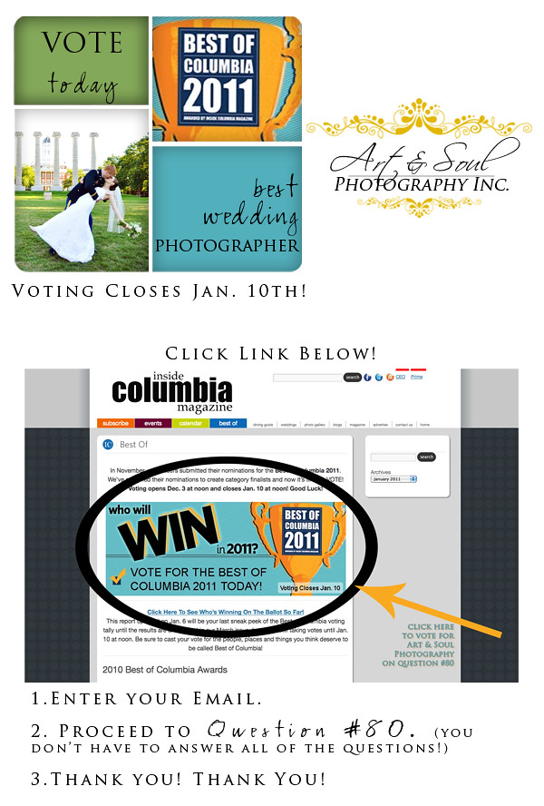 Vote for Art & Soul Photography