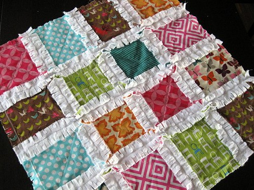 a Baby Rag Quilt