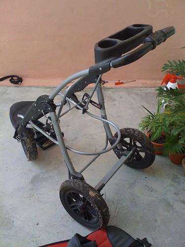Refurbishing stroller