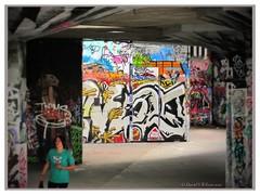 Skateboard Park Art (David S Wilson) Tags: summer england art canon underground 2010 canons90 filterstorm
