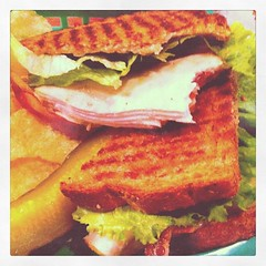 Twisted Pine Turkey Sandwich
