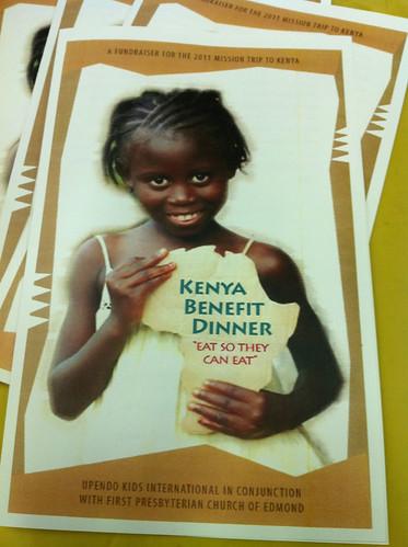 Kenya Mission Dinner