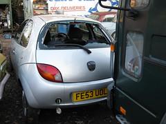 SEPTEMBER 2003 FORD 1299cc KA COLLECTION FE53UOL (Midlands Vehicle Photographer.) Tags: 2003 ford september collection ka 1299cc fe53uol