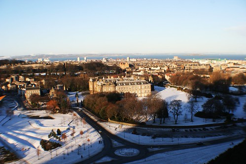 Palace of Holyroodhouse, Edinburgh in Winter