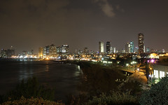 (FedericoGorgoglione) Tags: israel telaviv skyscrapers jaffa holyland notturno israele terrasanta grattacieli giaffa telavivbynight