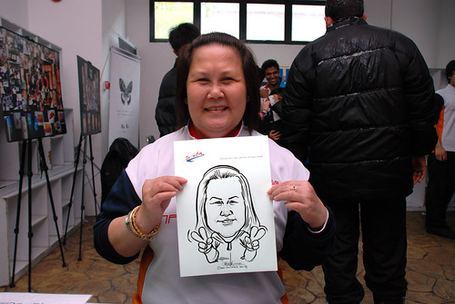 Caricature live sketching for Snow City - Day 8 - 3