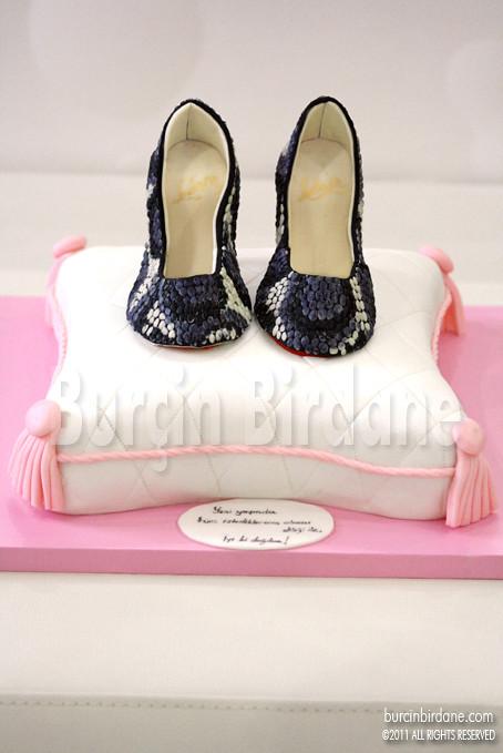 Christian Loubouttin Shoe Cake 1