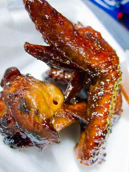 New Lane BBQ Chicken Wings