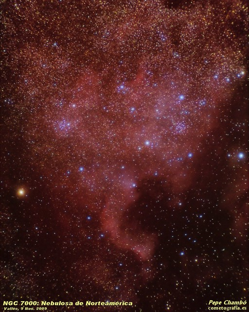 NGC 7000: North America Nebula