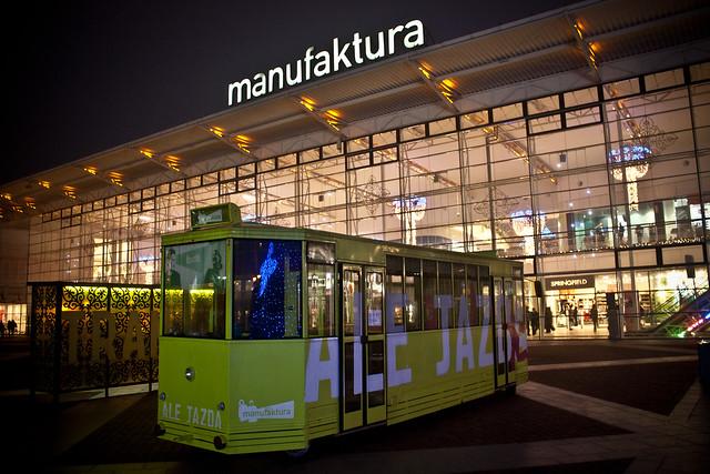 Centrum handlowe Manufaktura w Łodzi