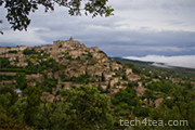 Gourdes - a hillclad village in Provence, France