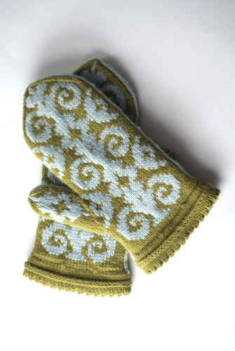 Winter Warmers - Flocked Mittens