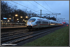 Zevenaar, 13-01-2011 (Mark Rail) Tags: ice db zevenaar rtb 4654 zv 51470 zvo nshispeed 303008 iceongeval