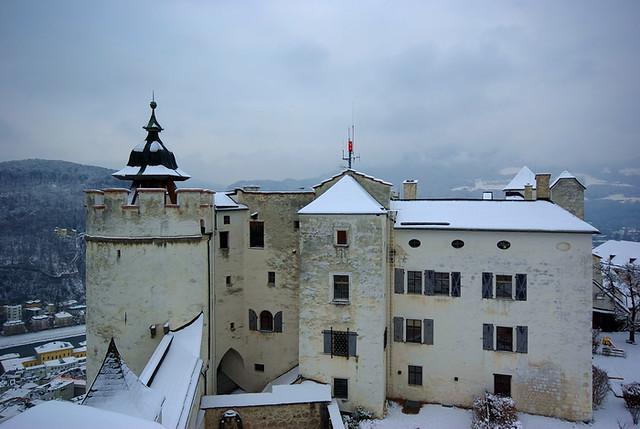 冬遊.印象.奧地利:薩爾斯堡古要塞-薩爾斯堡城堡 part 1