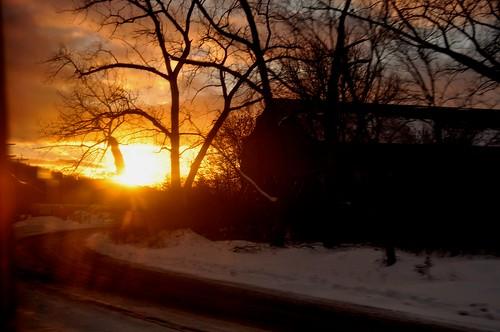 Hudson River Sunset 2