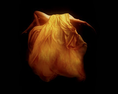 pieta (edit 2 - clean american version) (derek raugh) Tags: orange female dark levitation form flowing derekraugh