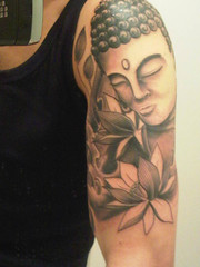 Girl with Buddha tattoo deported