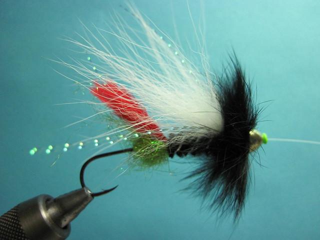 Pro Tube Green Butt Skunk Fly