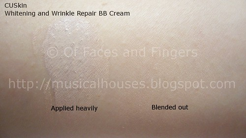 cuskin whitening wrinkle repair bb cream