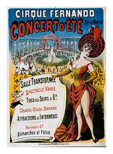 014-Circo Fernando-Concierto de Verano-Siglo XIX-Les Siles maison du libre et de l'affiche