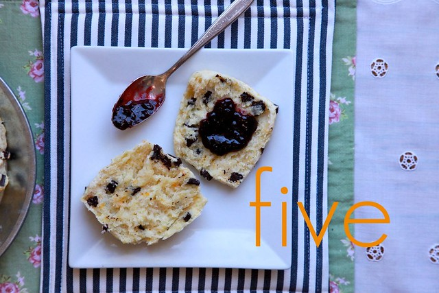Orange and Dark Chocolate Buttermilk Scones | Joy the Baker