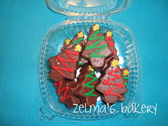 Christmas Tree Chocolates - packaged