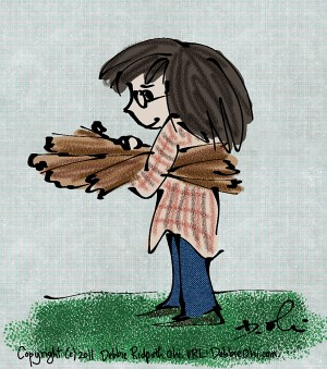 Woodpile Philosophy Illo #1