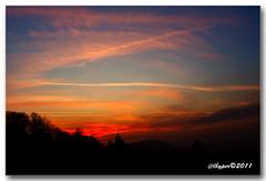 Sunset 18.01.2011
