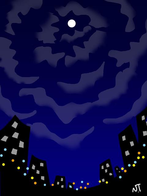 月王さまの夜