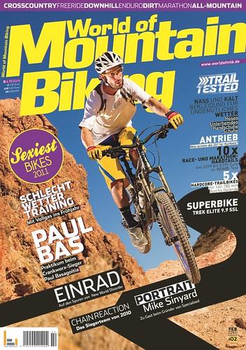 Sexiest Bike Award aus der World of Mountain Biking Zeitschrift