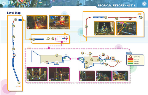 Tropical Resort Act 1 Map