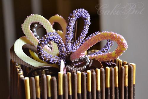 Chocolate Bow Cake