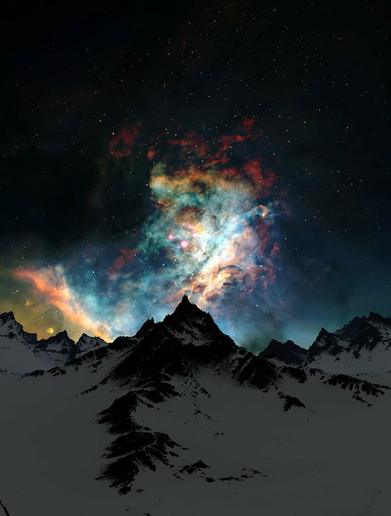 Through_the_Clouds__Night_by_Jeddaka